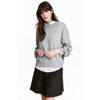 H&M Sweter 0447112001 Grey marl