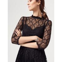 Mohito Koronkowa sukienka z plisowanym dołem RF249-99X