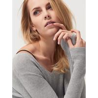 Mohito Sweter z brokatowym połyskiem QQ563-09X