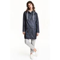 H&M Płaszcz przeciwdeszczowy 0477278002 Ciemnoniebieski