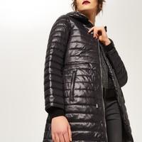Reserved Pikowany płaszcz QJ474-99X