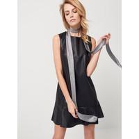 Mohito Sukienka ze skóry ekologicznej RH634-99X
