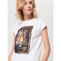 Mohito Koszulka z motywem zwierzęcym QI338-00X