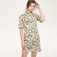 Reserved Sukienka w kwiaty QX589-MLC