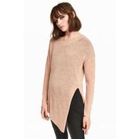 H&M Sweter o luźnym splocie 0398862002 Beżowy