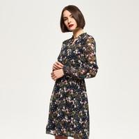 Reserved Sukienka w kwiaty QM172-MLC