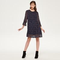 Reserved Wzorzysta sukienka QK575-MLC
