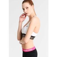 Nike Performance INDY Biustonosz sportowy white/black N1241I025