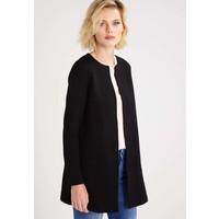 Vila VINAJA NEW LONG JACKET Krótki płaszcz black V1021G06S