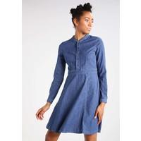Vila VILINY Sukienka jeansowa dark blue denim V1021C0RM