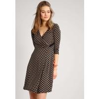 Anna Field Sukienka z dżerseju black/beige AN621CADV