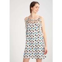 Sisley VESTITO Sukienka letnia white 7SI21C06F