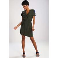 Sisley Sukienka letnia green 7SI21C06A