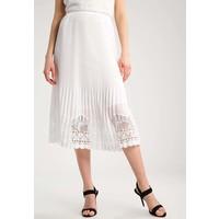 Sisley GONNA Spódnica plisowana white 7SI21B01U
