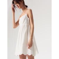 Mohito Bawełniana sukienka na ramiączkach AFTER HOURS QY980-00X