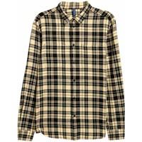 H&M Koszula flanelowa 0203595019 Żółty