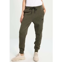 Nike Sportswear Spodnie treningowe medium olive heather/black NI121A01X