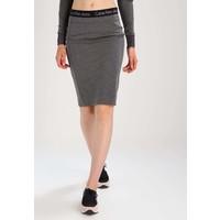 Calvin Klein Jeans KIRI Spódnica ołówkowa mid grey heat C1821B01G
