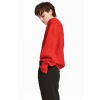 H&M Sweter 0530178002 Czerwony