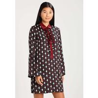 Sisley Sukienka koszulowa dark red 7SI21C06U