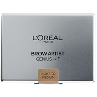 L'Oréal Paris Zestaw do stylizacji brwi Brow Artist Genius Kit Light To Medi 100-AKD07D