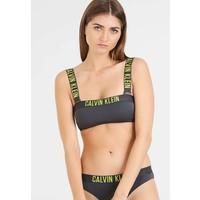 Calvin Klein Swimwear INTENSE POWER MESH BANDEAU-RP Góra od bikini forged iron C1781J001