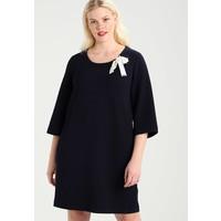 Persona by Marina Rinaldi TEXTURED DRESS Sukienka z dżerseju dark blue  PQ021C01K 98e803d2816