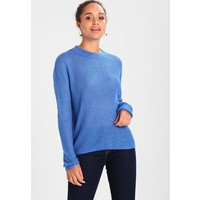 TOM TAILOR DENIM COZY CREW NECK Sweter strong palace blue TO721I07X