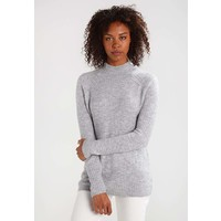 ONLY ONLORLEANS HIGHNECK Sweter light grey melange ON321I0Z1