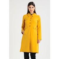 King Louie LUISA COAT HEAVY CREPE Płaszcz wełniany /Płaszcz klasyczny honey yellow KL221U000