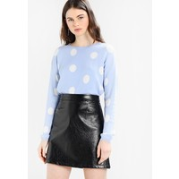 b.young MELICA Sweter light blue BY221I00I