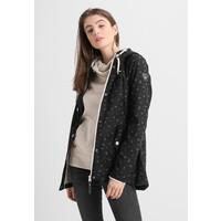 Ragwear MAGGIE Krótki płaszcz black R5921G026