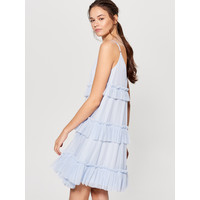 Mohito Sukienka z falbanami UK454-50X