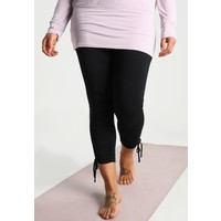 YOGA CURVES LEGGINS 7/8 Legginsy black YO741E006