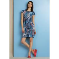 Monnari Wzorzysta sukienka midi SUKPOL0-18L-DRE0810-KM12D700-R36