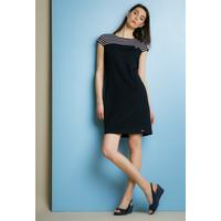 Monnari Sukienka z prążkowanym karczkiem TUNPOL0-18W-TUN0230-KM13D100-R36