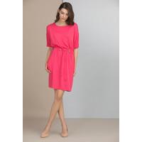 Monnari Sukienka z wiązanym paskiem SUKIMP0-18W-DRE0130-K004D000-R36