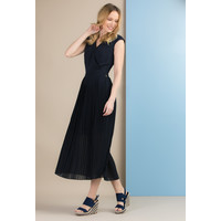 Monnari Sukienka z plisowanym dołem SUKIMP0-18L-DRE0980-K013D000-R36