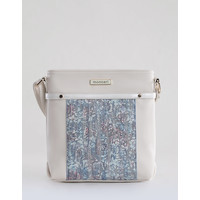 Monnari Torebka z kontrastującym panelem TORIMP0-18W-BAG6060-K015D000-R00