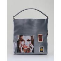 Monnari Shopper bag z printem II TORIMP0-18W-BAG1130-K022D000-R00