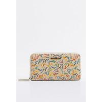 Monnari Kolorowy portfel z wzorem PORIMP0-18W-PUR0300-K015D000-R00