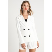 Missguided DOUBLE BREASTED WITH BUTTONS Żakiet white M0Q21G03F