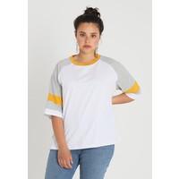 Twintip Plus Bluzka z długim rękawem white/yellow TWB21D00G