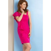 Monnari Asymetryczna sukienka SUKIMP0-18L-DRE1040-K004D000-R36