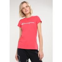 Champion CREWNECK T-shirt z nadrukiem pink C7641D00D