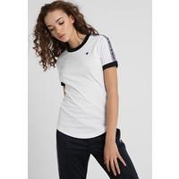 Champion Reverse Weave TAPED SLEEVE LARGE LOGO T-shirt z nadrukiem white C0T21D00E