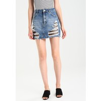 Topshop Spódnica jeansowa middenim TP721B0A8