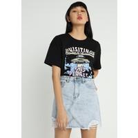TWINTIP T-shirt z nadrukiem black TW421D09U
