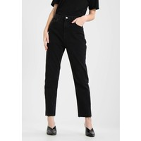 Topshop Jeansy Straight Leg washed black TP721N09T
