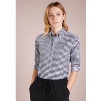 Polo Ralph Lauren GINGHAM SLIM FIT Koszula black/white PO221E03O